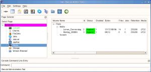 Bacula Admin Tool 2.4.0